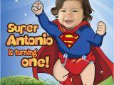 Superman 1st Birthday Invitations Birthdaybuzz