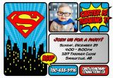 Superman 1st Birthday Invitations Superman First Birthday Party Mommy Connections