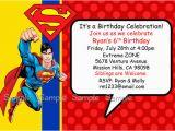Superman Birthday Invites Superman Birthday Invitations Ideas Bagvania Free