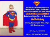 Superman Birthday Invites Superman Birthday Party Invitations Oxsvitation Com