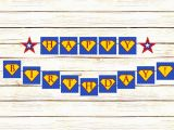 Superman Happy Birthday Banner 9 Best Images Of Free Superman Printable Birthday Banners