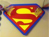 Superman Happy Birthday Banner Superman Inspired Happy Birthday Banner by Paperpiecingdreams