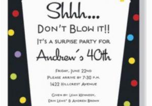 Suprise Birthday Invitations Retro Surprise Birthday Invitations