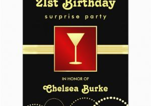 Surprise 21st Birthday Invitations 21st Birthday Surprise Party Any Occasion Invites Zazzle