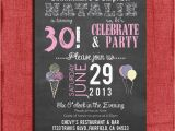 Surprise 21st Birthday Invitations Surprise 21st 30th 40th 50th Chalkboard Style Birthday