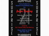 Surprise 21st Birthday Invitations Surprise 21st Birthday Party Invitation 21 Zazzle