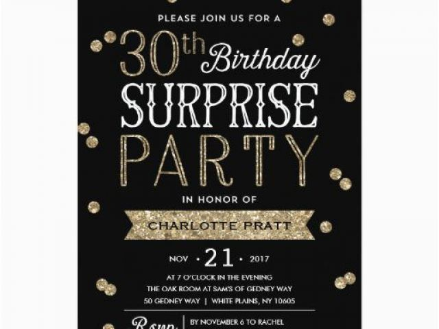 Download By SizeHandphone Tablet Desktop Original Size Back To Surprise 30th Birthday Invitations For Him