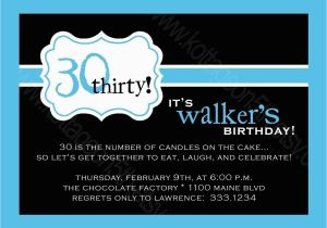Surprise 30th Birthday Invitations For Him Best Party Ideas