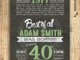 Surprise 40th Birthday Invites 40th Birthday Invitation Surprise 40th Birthday Invite