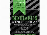 Surprise 40th Birthday Invites Surprise Party 40th Birthday Invitation Mens by Purplechicklet