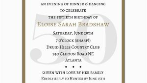 Surprise 50 Birthday Party Invitations Classic 50th Birthday Gold Surprise Party Invitations