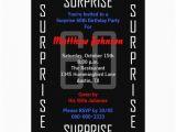 Surprise 60 Birthday Party Invitations Surprise 60th Birthday Party Invitation 60 Zazzle
