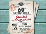 Surprise 60 Birthday Party Invitations Surprise 60th Birthday Party Invitation top Secret 60th