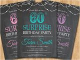 Surprise 60th Birthday Invitation Templates Free 31 Examples Of Birthday Invitation Designs Psd Ai