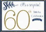 Surprise 60th Birthday Invitation Templates Free Free Printable 60th Birthday Invitation Templates Free