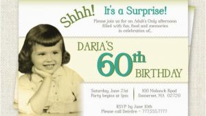 Surprise 60th Birthday Invitations Free Surprise 60th Birthday Invitation Digital Printable File