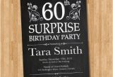 Surprise 60th Birthday Party Invitations Template 14 Surprise Birthday Invitations Free Psd Vector Eps