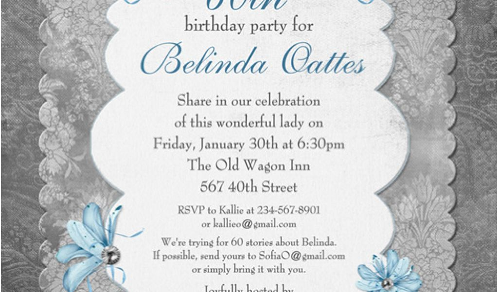 Download By SizeHandphone Tablet Desktop Original Size Back To Surprise 60th Birthday Party Invitations Template