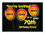 Surprise 70th Birthday Invitations Templates 70th Surprise Birthday Party Invitation Template Zazzle