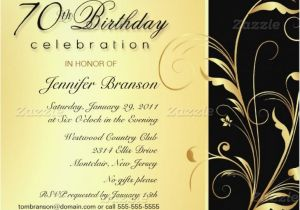 Surprise 70th Birthday Invitations Templates Invitation Wording For Party Hnc