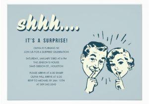 Surprise 70th Birthday Invitations Templates Retro Zazzle Com