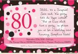 Surprise 80th Birthday Invitation Wording Surprise Birthday Party Invitations Wording Ideas