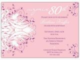 Surprise 80th Birthday Party Invitation Wording Quotes for 80th Birthday Invitation Quotesgram