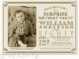 Surprise 80th Birthday Party Invitation Wording Surprise Adult Birthday Invitation Beige by