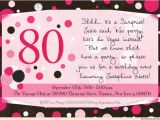 Surprise 80th Birthday Party Invitation Wording Surprise Birthday Party Invitations Wording Ideas