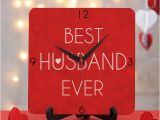 Surprise Birthday Gifts for Husband Best Husband Clock Gift Send Home and Living Gifts Online