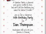 Surprise Birthday Invitation Message 8 Best Images Of Surprise 50th Birthday Invitations