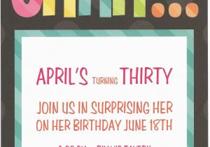 Surprise Birthday Invitation Wording for Adults Surprise Birthday Party Invitation Wording for Adults