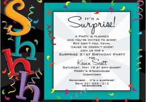 Surprise Birthday Party Invitation Wording for Adults Impactful Adult Birthday Party Wording Concerning Unusual