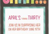 Surprise Birthday Party Invitation Wording for Adults Surprise Birthday Party Invitation Wording for Adults