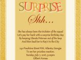 Surprise Birthday Party Invitation Wording for Adults Surprise Birthday Party Invitation Wording Wordings and