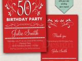 Surprise Birthday Party Invitations for Adults 50th Adult Birthday Invitation Surprise Birthday Invitation