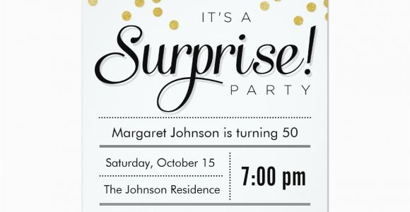 Surprise Birthday Party Invitations for Adults Party Invitations Best Surprise Party Invitation Ideas
