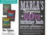 Surprise Birthday Party Invitations for Adults Surprise Party Invitation Adult Custom Printable by