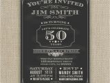 Surprise Birthday Party Invitations for Men 21st 30th 40th 50th 60th Surprise Birthday Party