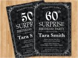 Surprise Birthday Party Invitations for Men 40th Surprise Party Invitation for Men orderecigsjuice Info