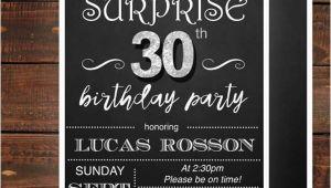 Surprise Birthday Party Invitations for Men Birthday Invitation Templates In Pdf Free Premium