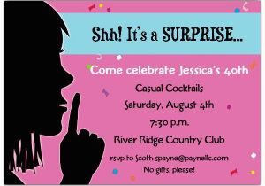 Surprise Birthday Party Invite Wording 20 Interesting 30th Invitations Themes