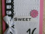 Sweet 16 Birthday Card Ideas 52 Best Images About Girls Birthday Cards On Pinterest
