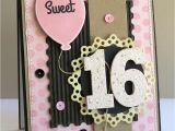 Sweet 16 Birthday Card Ideas A Paper Melody Mftwsc133 Sweet 16