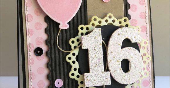 Sweet 16 Birthday Card Ideas A Paper Melody Mftwsc133 Sweet 16