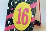 Sweet 16 Birthday Card Ideas Sweet 16 Birthday Card Stamping Mom