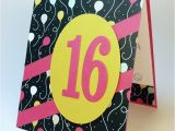 Sweet 16 Birthday Card Ideas Sweet 16 Birthday Card Stamping Mom