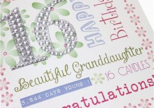 Sweet 16 Birthday Cards For Granddaughter 16th Greetings Atletischsport