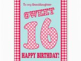 Sweet 16 Birthday Cards for Granddaughter 16th Birthday Quotes for Granddaughter Quotesgram