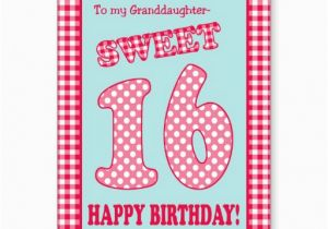 Sweet 16 Birthday Cards For Granddaughter 16th Quotes Quotesgram
